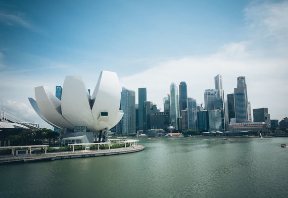 123rf.com nuotr./SINGAPORE – July 16, 2015 ArtScience Museum
