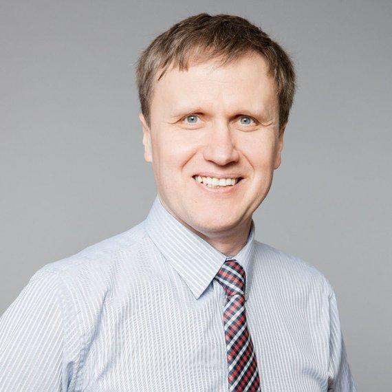 """""""DNB Būstas"""" nuotr./ """"DNB Būstas"""" direktorius Audrius Gudanavičius."""