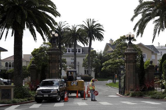 """""""Scanpix""""/AP nuotr./""""Presidio Terrace"""" gatvė San Fransiske"""