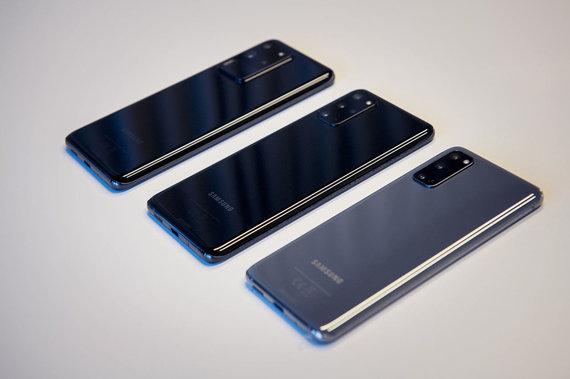 """Gamintojo nuotr./Pristatyta naujausių """"Samsung Galaxy S20"""" telefonų serija"""