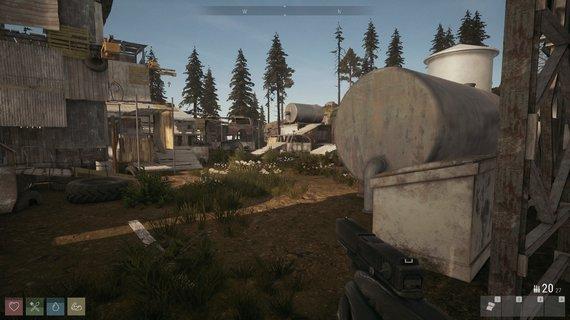 """M.Klimo iliustr./Banditai įkvėpimo statyboms sėmėsi iš """"Fallout 3"""" bazių statymo modų"""