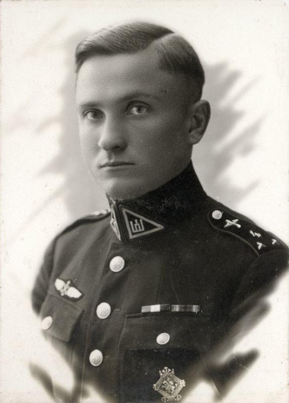 Lietuvos aviacijos muziejaus nuotr./Steponas Darius, 1927