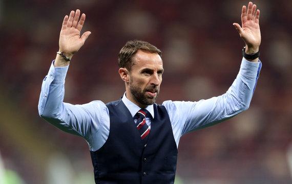 """""""Scanpix"""" nuotr./Anglijos rinktinės treneris Garethas Southgate'as"""