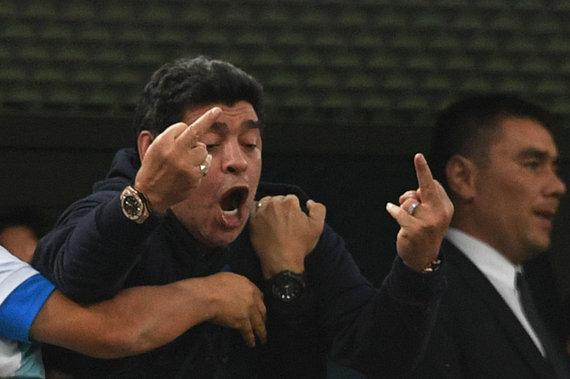 """AFP/""""Scanpix"""" nuotr./Diego Maradona"""