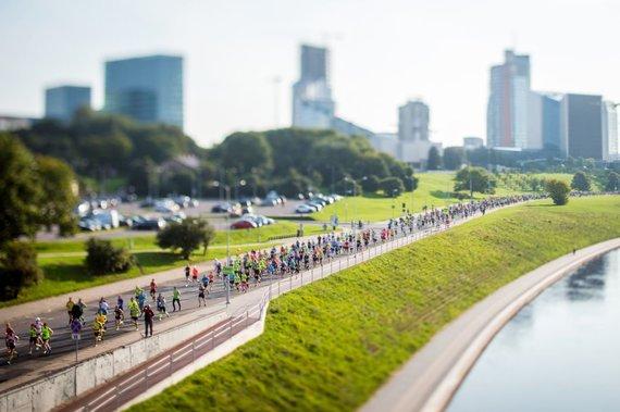 Augusto Didžgalvio nuotr./Vilniaus maratone laukiama 14 tūkst. dalyvių.