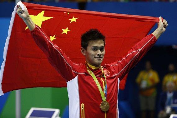 """""""Scanpix"""" nuotr./Sun'as Yangas – Kinijos plaukimo superžvaigždė."""