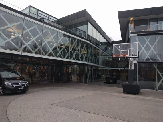 Kęsto Rimkaus nuotr./FIBA būstinė Ženevoje.