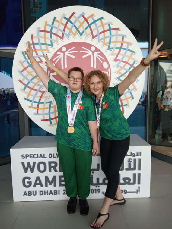 Specialiosios olimpinės žaidynės. Adomas Bužinskas laimėjo auksą plaukime.