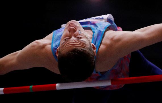 """""""Scanpix"""" nuotr./Antidopingo taisyklių pažeidimai – rusas D.Lysenko buvo suspenduotas 2018 metais."""