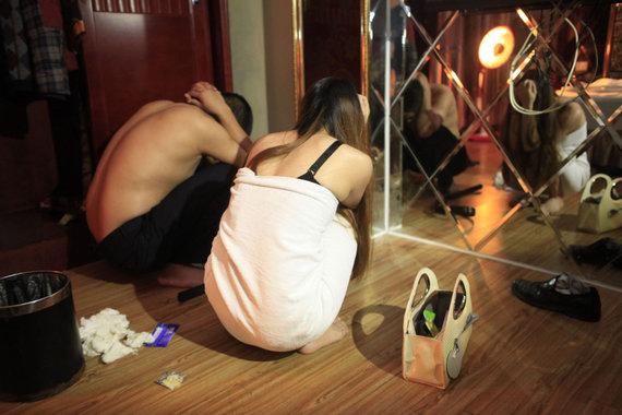 "AFP/""Scanpix"" nuotr./Donguanas vadinamas sekso industrijos lyderiu."