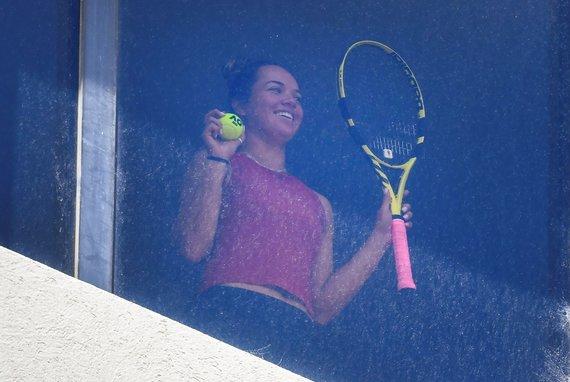 """""""Scanpix"""" nuotr./Prieš """"Australia Open"""" turnyrą žaidėjai pateko į karantiną Melburne."""
