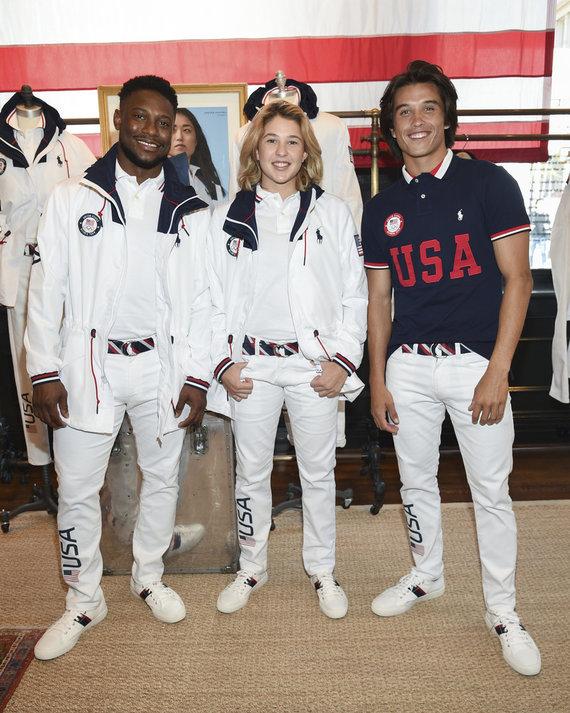 """""""Scanpix"""" nuotr./JAV olimpinė apranga"""