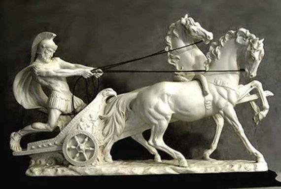 Gajaus Apulėjaus Dioklo statulėlė, II a.
