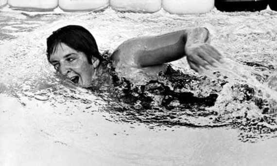 Plaukimo istorijos įdomybės. Karštakošė australė Dawna Fraser