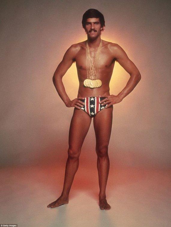 Plaukimo istorijos įdomybės. Ūsuotasis čempionas – Markas Spitzas.