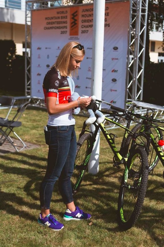 Organizatorių nuotr./Vilniuje vyks pasaulio orientavimosi sporto kalnų dviračiais čempionatas.