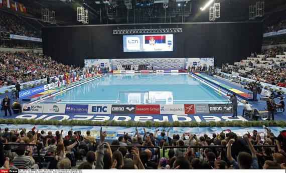 """""""Scanpix"""" nuotr./Eurolygos finalo ketverto turnyras vyks Belgrado """"Štark"""" arenoje."""