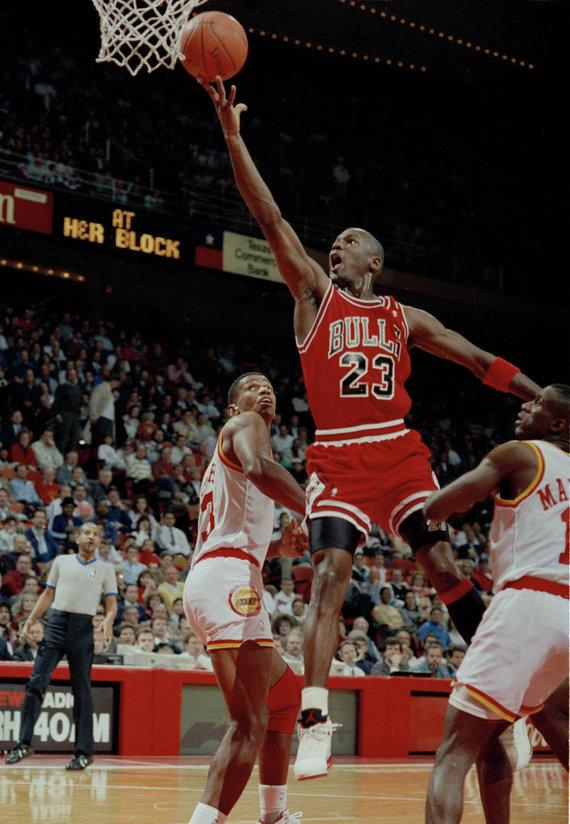 """""""Scanpix"""" nuotr./NBA legendos - Michaelas Jordanas"""