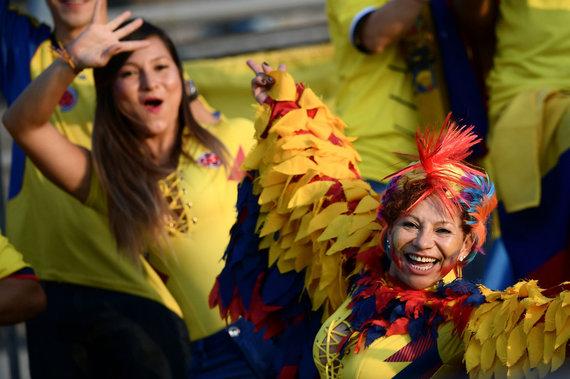 """""""Scanpix"""" nuotr./Kolumbijos sirgalės"""
