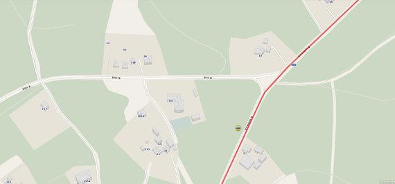 Maps.lt nuotr./Šilo–Viršupio gatvių sankryža