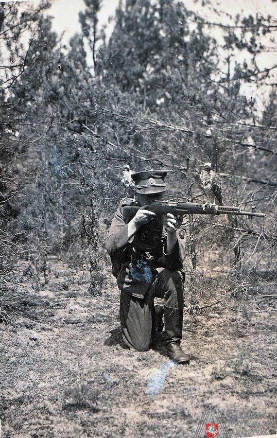 LYA nuotr./Adolfas Ramanauskas-Vanagas. 1947 m. vasara