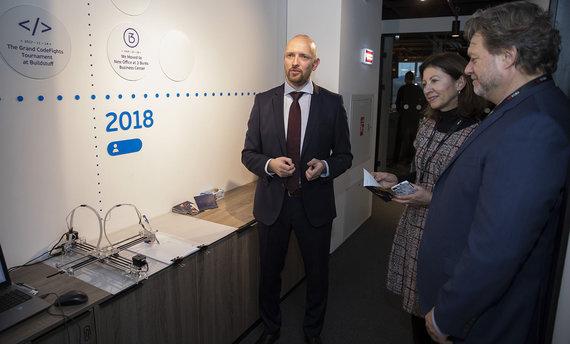 """Evaldo Lasio nuotr./IT bendrovės """"Visma Lietuva"""" biuras"""