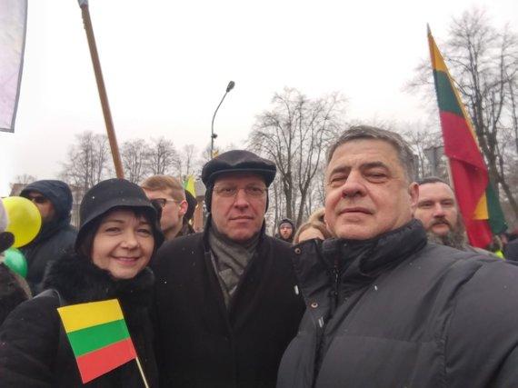 Photo: A.Simkus / Facebook / Naglis Puteikis, Alvidas Šimkus