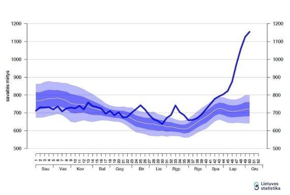 Statistikos departamento inf./Mirtys