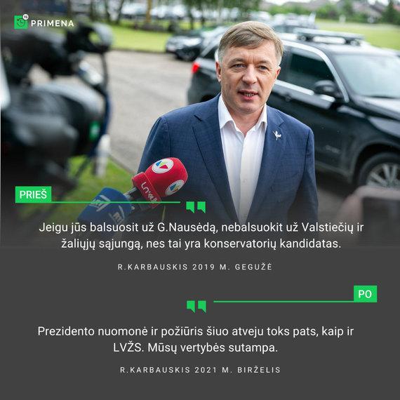 15min nuotr./Ramūnas Karbauskis