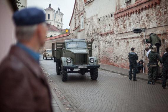 Vilniaus miesto savivaldybės nuotr./Vilnius virs filmavimo aikšele