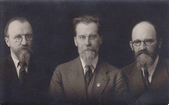 LRT/ Valstybinio Vilniaus Gaono žydų muziejaus nuotr./1920 m. vasario 16 d. Lietuvos nepriklausomybės metinių minėjimas Kaune
