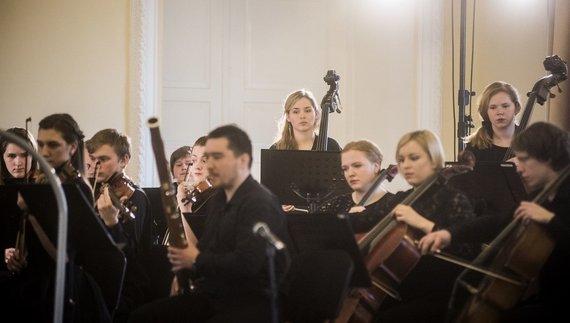 Dmitrij Matvejev nuotr./Baltijos šalių akademijų orkestras
