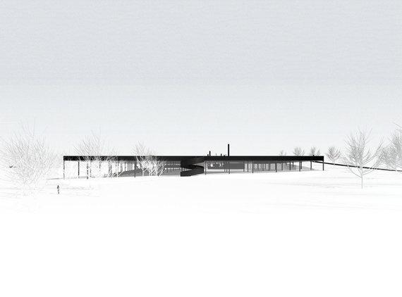 Projekto autorių nuotr./Kelių Muziejaus projektas. Elektrėnai