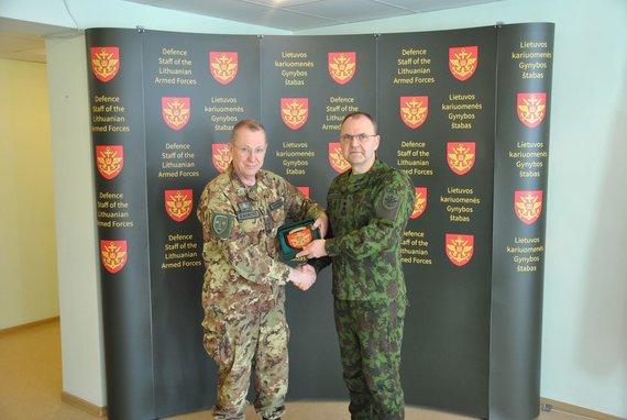 KAM nuotr./Lietuvoje lankosi naujasis NATO vadavietės Brunsume vadas