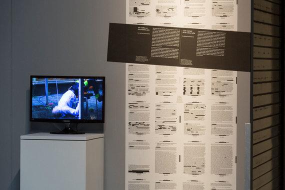 ZKM Zentrum für Kunst und Medien Karlsruhe/ Anatole Serexhe nuotr./Waterboarding. Frédéric Krauke