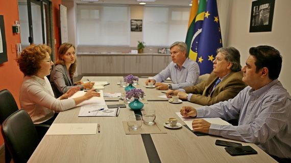 URM nuotr./Carlosas Levensteinas pradėjo eiti Lietuvos garbės konsulo Brazilijoje pareigas