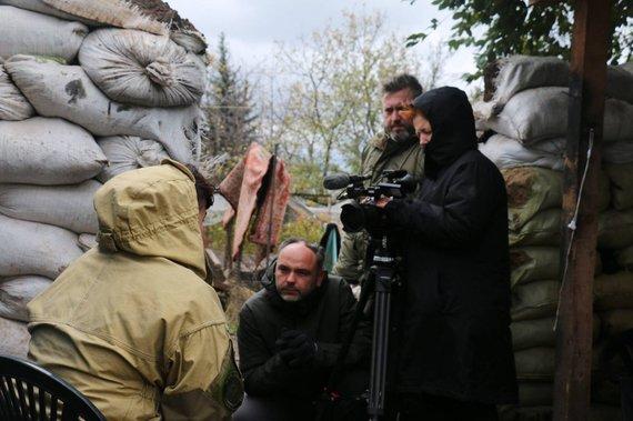 Asmeninio archyvo / LRT nuotr./E.Špokas apie žurnalisto darbą pavojingose vietose: kare taisyklių nėra