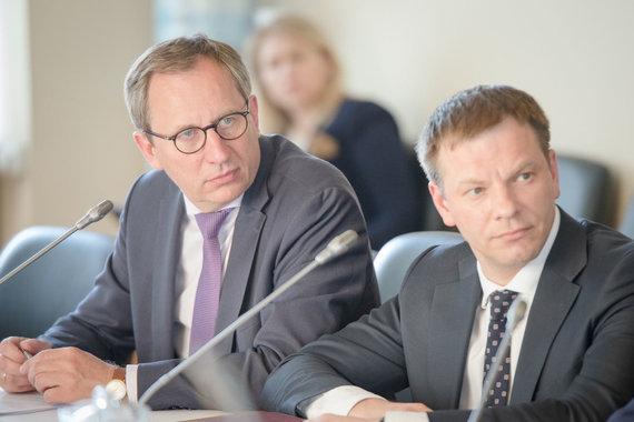 LRVK/ Dariaus Janučio nuotr./Deividas Matulionis (kairėje)