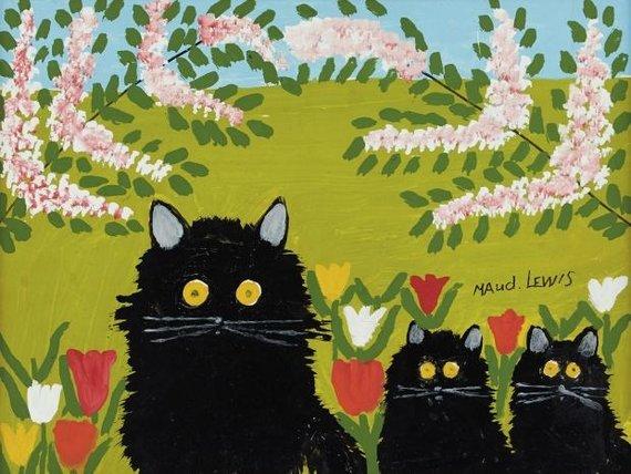 Maud Lewis piešinys