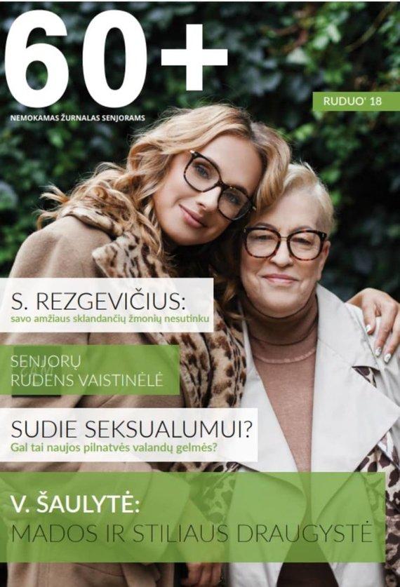 """Asmeninio archyvo nuotr./Nemokamas žurnalas senjorams """"60+"""""""