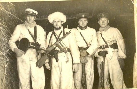"Albumo ""Lietuvos partizanai 1944–1986"" nuotr./Lietuvos partizanai"