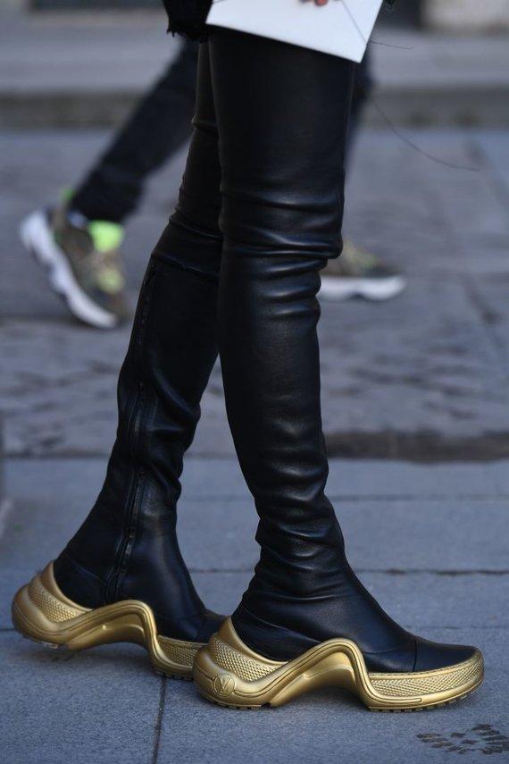Vida Press nuotr./Gatvės stilius: platforminiai batai