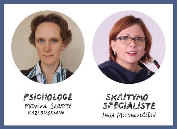 Asmeninio archyvo nuotr./Monika Skerytė-Kazlauskienė ir Inga Mitunevičiūtė
