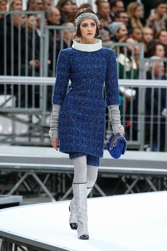 """Scanpix""/""SIPA"" nuotr./""Chanel"" 2017–2018 m. rudens-žiemos kolekcija"