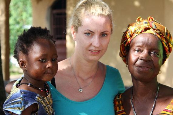 Asmeninio archyvo nuotr./UNICEF Lietuvos misija Siera Leonėje