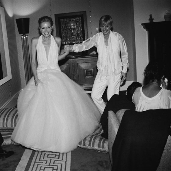 """""""Instagram"""" nuotr./Portia de Rossi ir Ellen DeGeneres"""