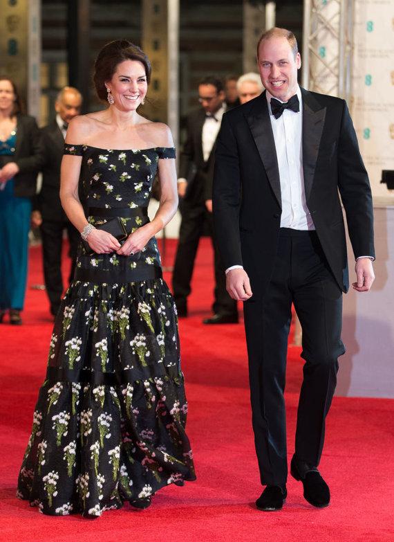 Vida Press nuotr./Kembridžo hercogienė Catherine ir princas Williamas