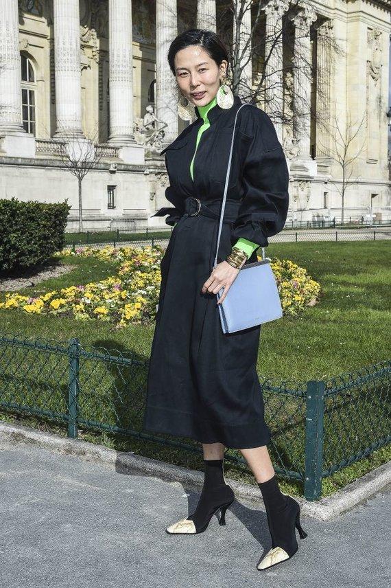 Vida Press nuotr./Paryžiaus gatvės stilius