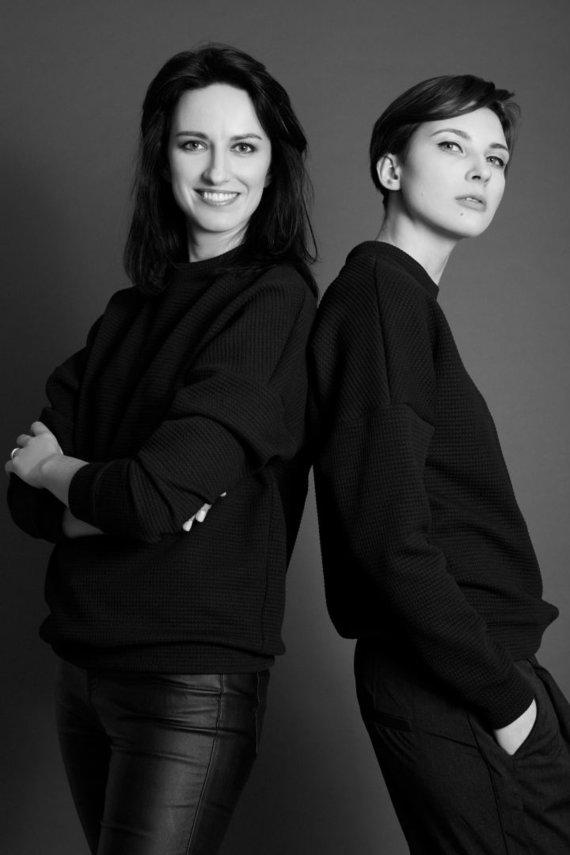 Gertrūdos Varnaitės nuotr./Aida Einorė ir Morta Nakaitė