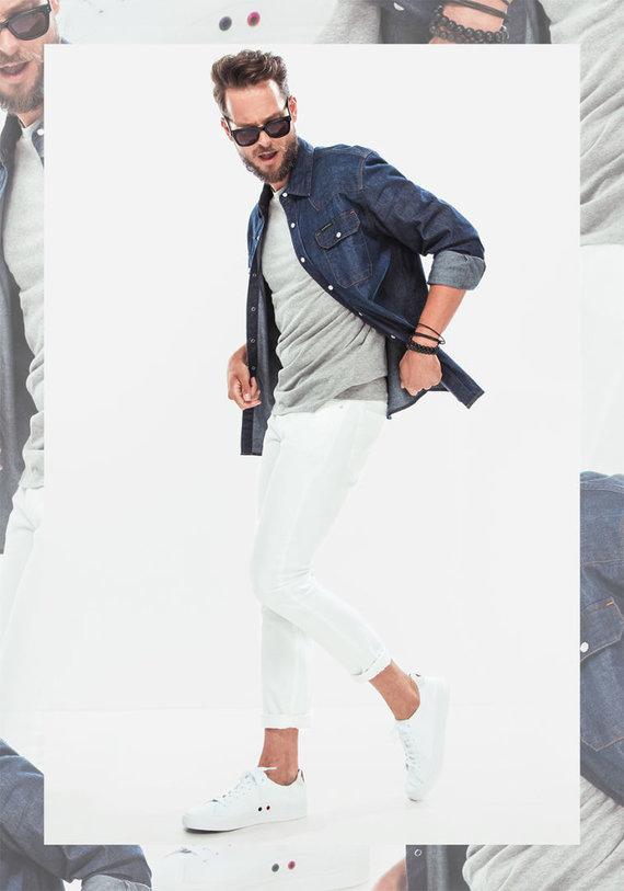 """Newmood.lt"" nuotr./Vyro stilius: balti džinsai"